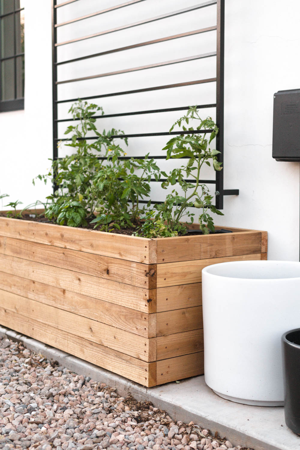 Diy Raised Planter Box In Just 3 Steps Vintage Revivals