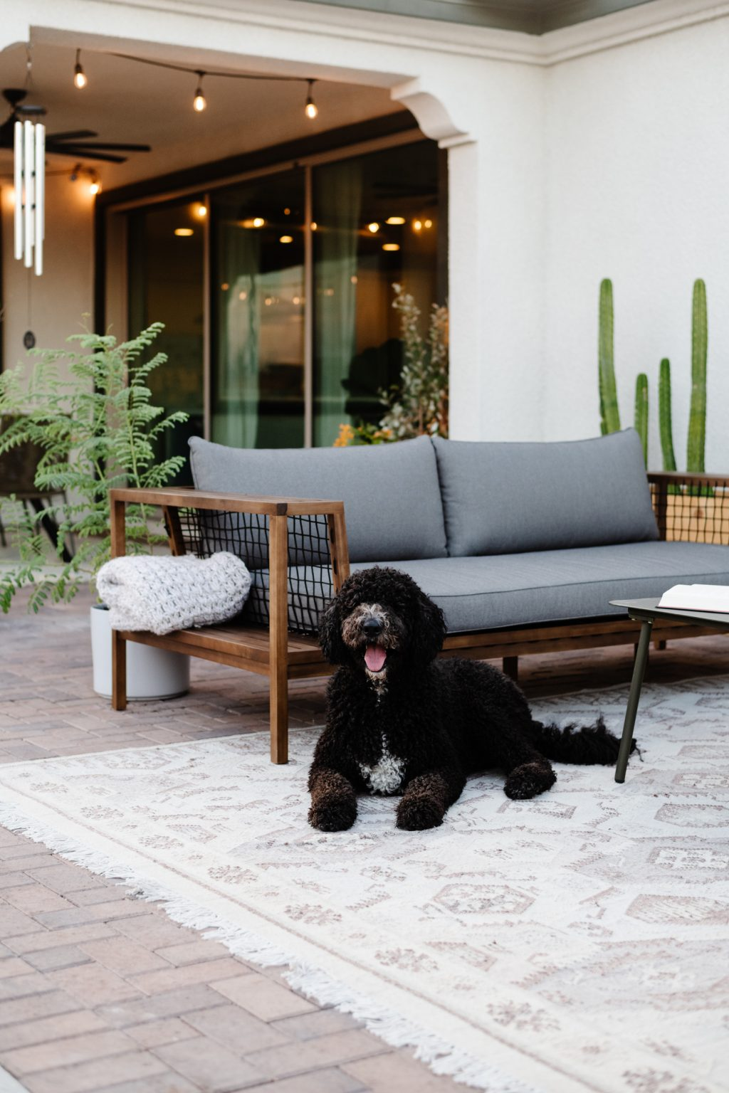 easy outdoor patio update with article