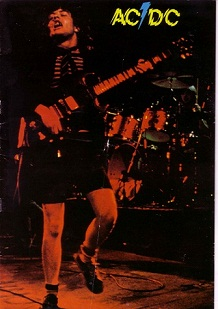AC/DC at Newcastle Mayfair 1977 to 1980 (3/6)