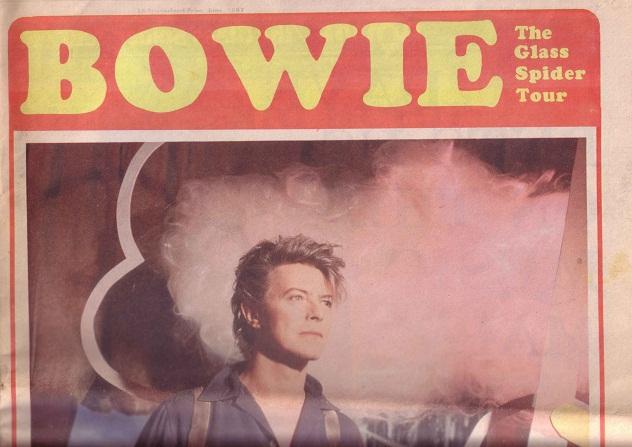 David Bowie Roker Park Glass Spider Tour 23 June 1987 (3/3)