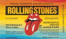 The Rolling Stones St James Park Newcastle 1982 (2/2)