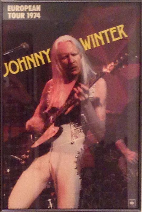 Johnny Winter New Victoria Theatre London 26th October 1974 (2/3)