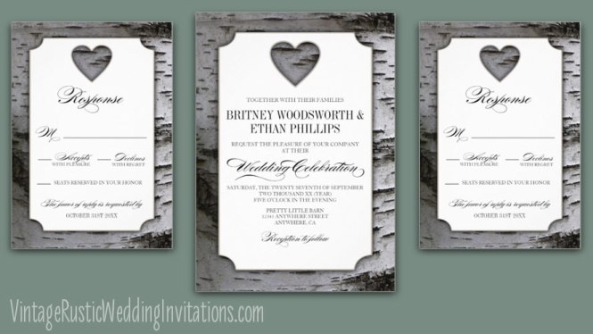 Baby S Breath Rustic Wedding Invite