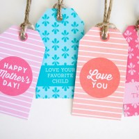 Mother's Day Gift Tags {freebies}