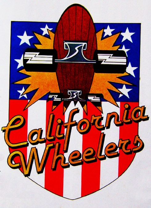 California Wheelers logo