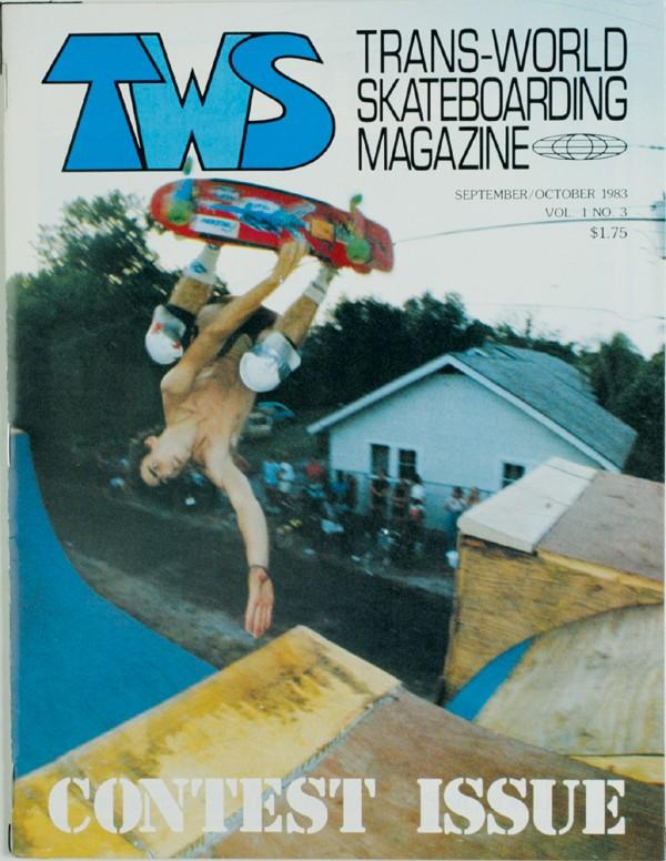 Transworld Skateboarding Covers