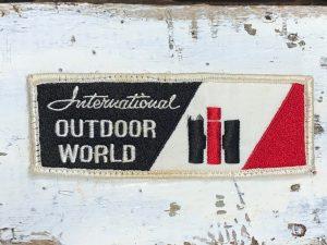 Vintage International Harvester IH Outdoor World Patch