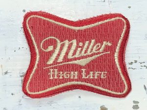 Vintage Miller High Life Patch