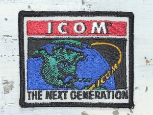 Vintage ICOM Patch