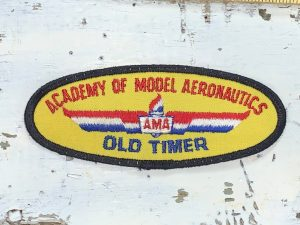 Vintage Academy of Model Aeronautics – AMA Patch