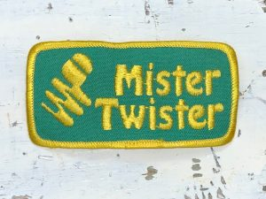 Vintage Mister Twister Patch