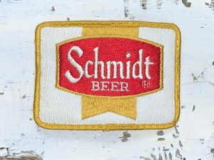Vintage Schmidt Beer Patch