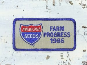 Vintage Americana Seeds 1986 Patch