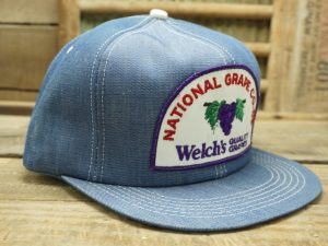 Welch's Quality Grapes Denim Hat
