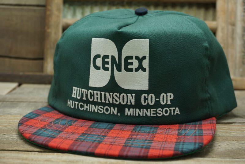 Vintage Cenex Hutchinson CO-OP Snapback Trucker Hat Cap