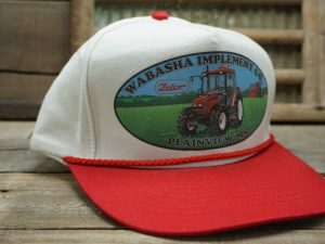 WABASHA IMPLEMENT CO Plainview, MN Vintage Hat