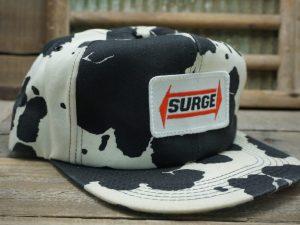 Surge Milker Babson Bros. Cow Print Hat