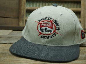 """Marlboro Unlimited """"Ride It Run It Climb It"""" Hat"""