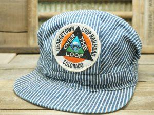 Georgetown Loop Railroad Colorado Engineer Conductor Hat