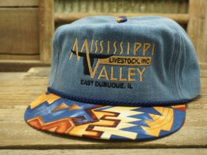 Mississippi Valley Livestock East Dubuque IL Hat