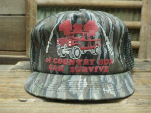 4X4 Truck A Country Boy Can Survive Hat