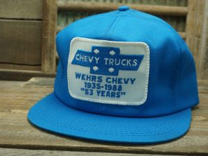 """Chevy Trucks Wehrs Chevy """"53 Years"""" Hat"""