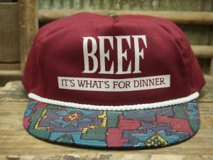 Beef It's What's For Dinner Hat