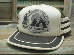 I Traveled the World Famous Alaska Highway Canada Hat