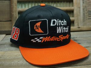 Ditch Witch Motorsports #18 Joe Gibbs Racing Hat