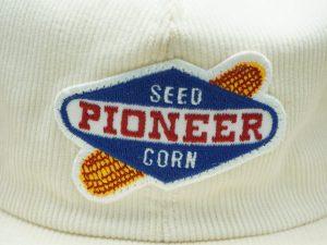 Pioneer Seed Corn Corduroy Hat