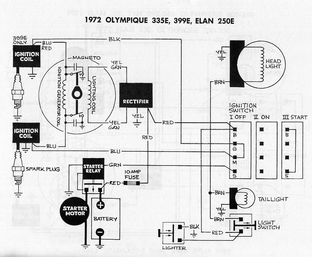 72 Olympic Electric Start Conversion
