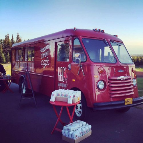 1967 Chevy Grumman - Kaladi Brothers Coffee