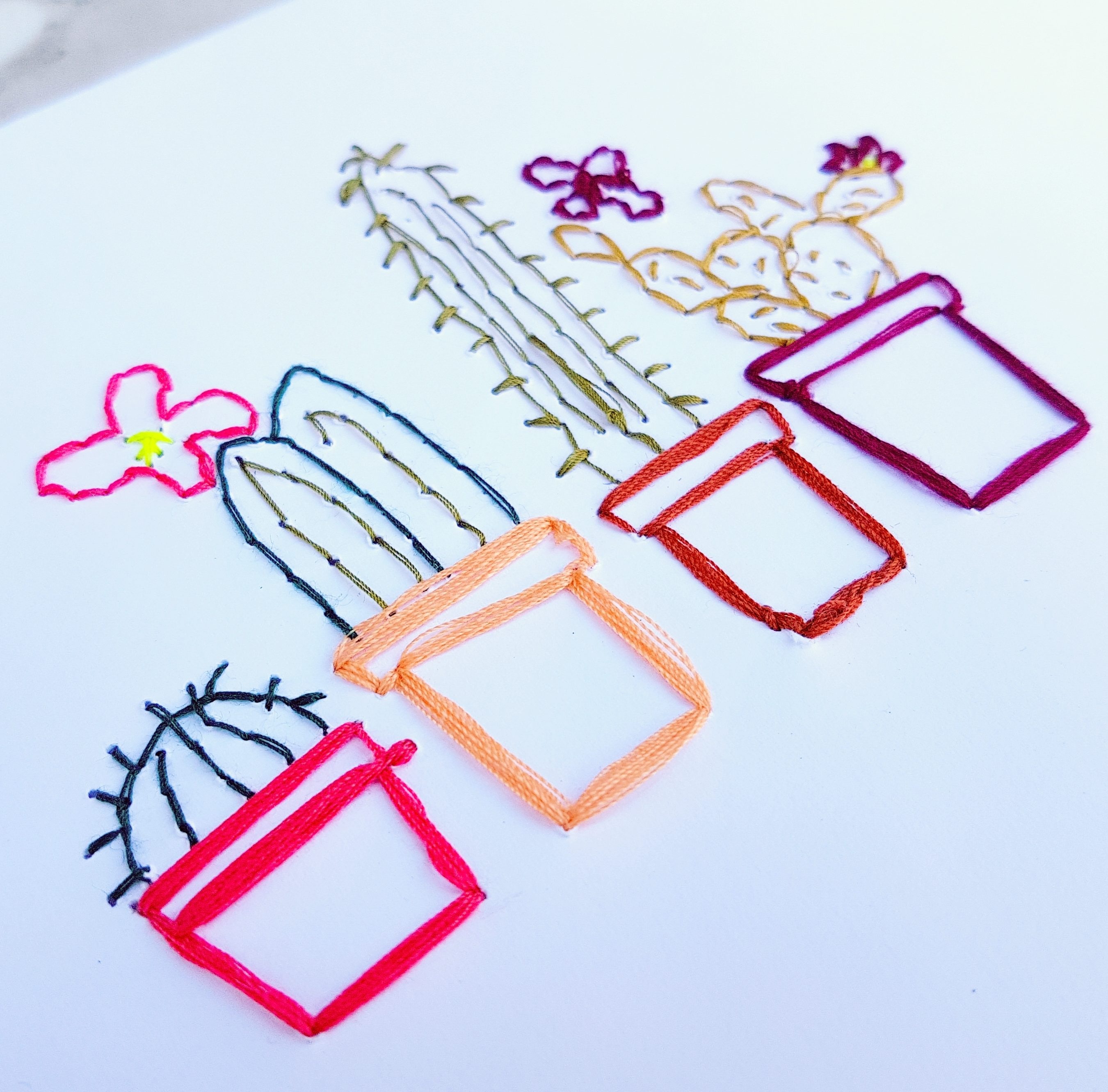 Embroidered Paper How To Stationary