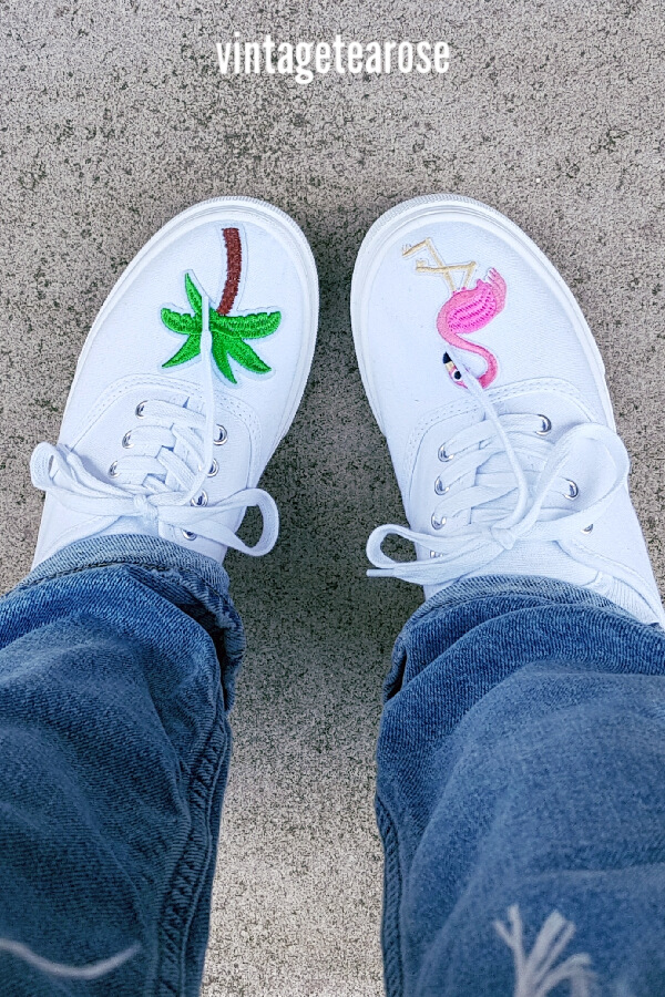 DIY: Iron-on Transfer Shoes