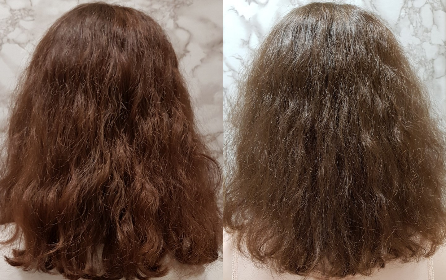 Before & After Pictures Forest & Shore Hallelujah Hair Oil Review
