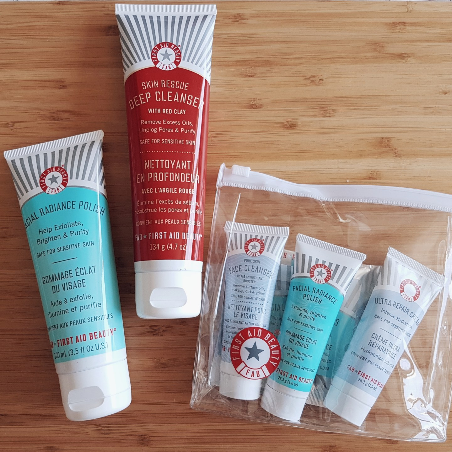 Collective Beauty Haul First Aid Beauty
