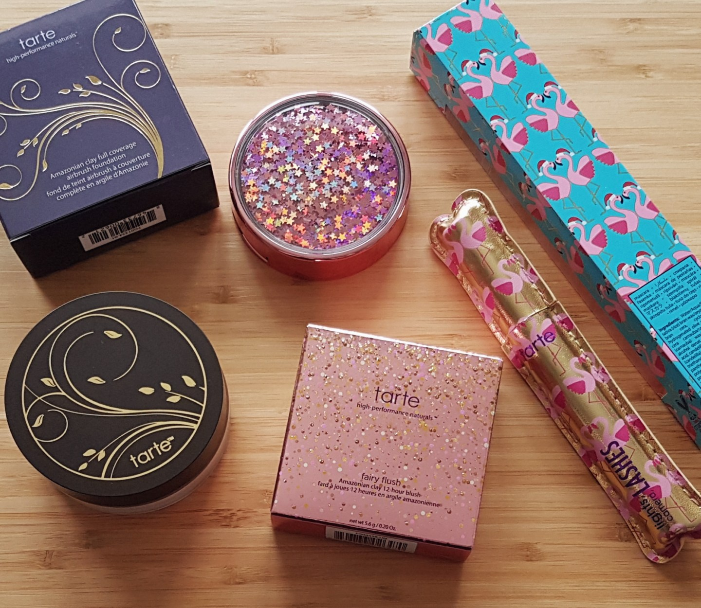 Collective Beauty Haul Tarte