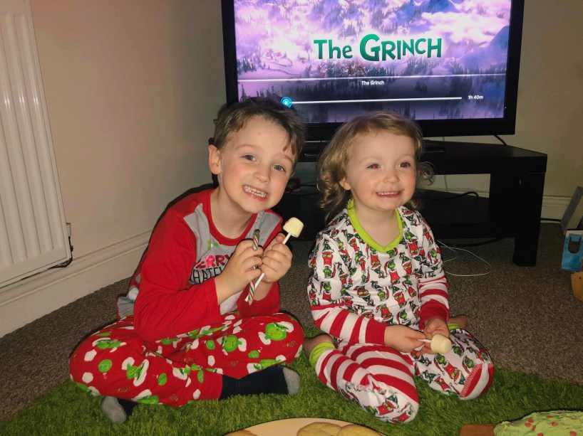The Grinch Themed Christmas Evening