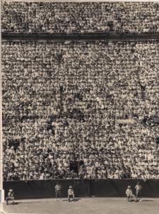 Davis Cup 1954 World Record Crowd, White City, Sydney, Australia