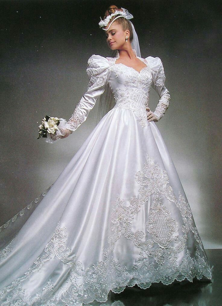 16 Awesome Wedding Dresses Inspired by