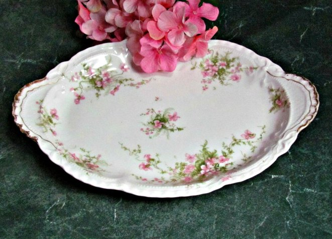 Antique Theodore Haviland Limoges platter
