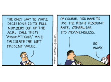 Dilbert & Discount Rates