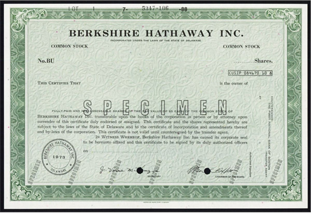 Why Is Berkshire Hathaway Stock So Expensive? – Vintage