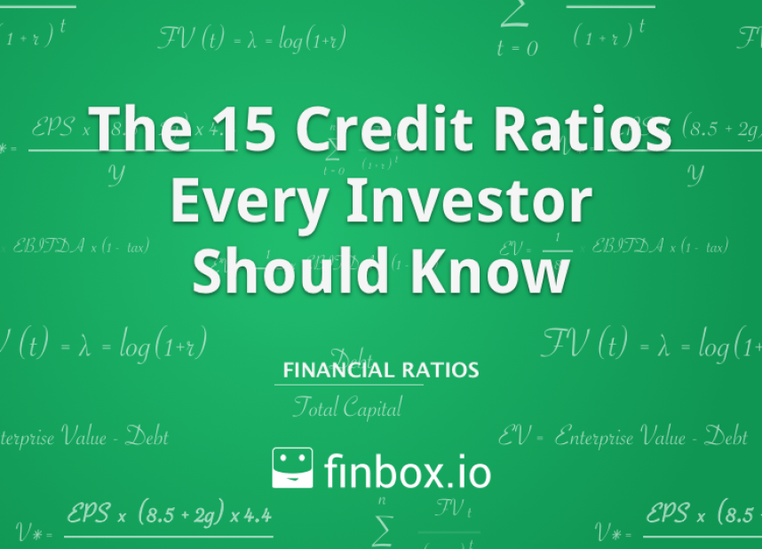 15 Credit Ratios Every Investor Should Know