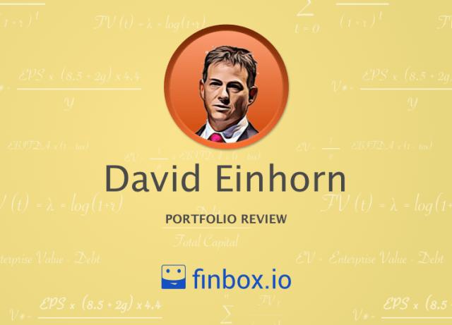 David Einhorn Stock Portfolio - Vintage Value Investing