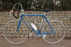 Gazelle Champion Mondial Model A Unrestored blue and silver