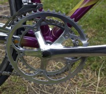 Shimano 600 Tri-color crank and gears