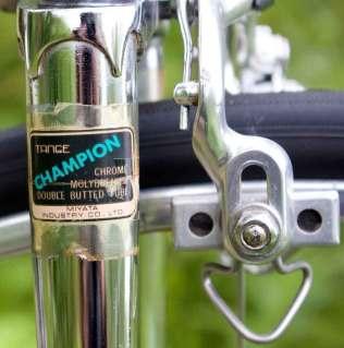 Tange Champion tubing decal