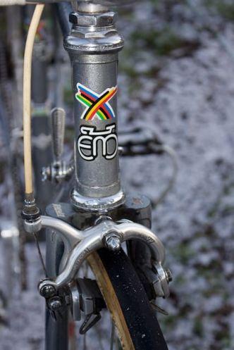 Merckx professional head tube decal