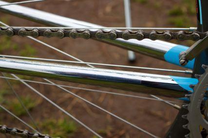 Colnago Master chromed chain stays